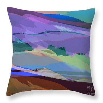 Foothills Throw Pillow