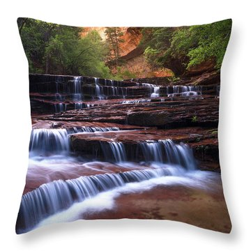 For An Angel Throw Pillow