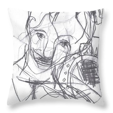 For B Story 4 1 Throw Pillow