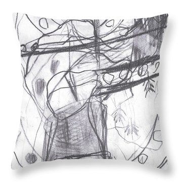 For B Story 4 10 Throw Pillow