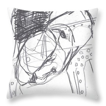 For B Story 4 11 Throw Pillow