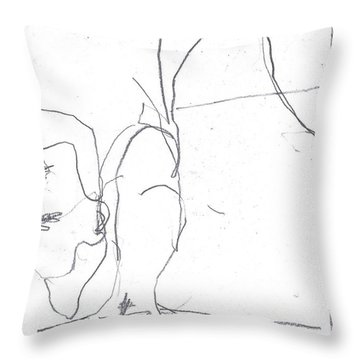 For B Story 4 7 Throw Pillow
