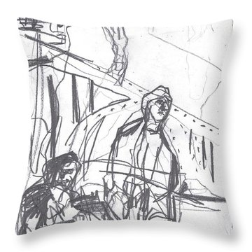 For B Story 4 8 Throw Pillow