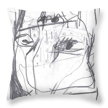 For B Story 4 9 Throw Pillow