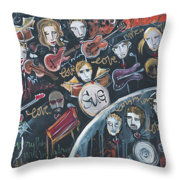 For Ben Throw Pillow