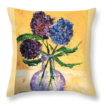 For Charlene Throw Pillow