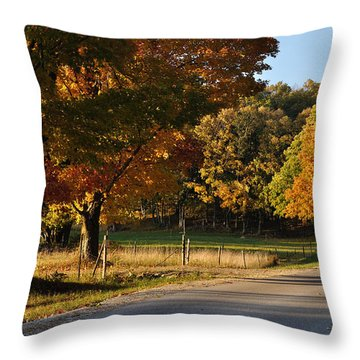 For Grazing Throw Pillow