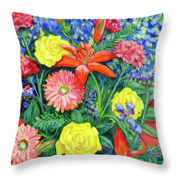 For Helen, With Love Throw Pillow
