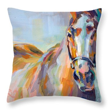 For Her Eyes Only Throw Pillow