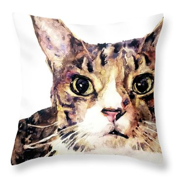 For Laura Throw Pillow