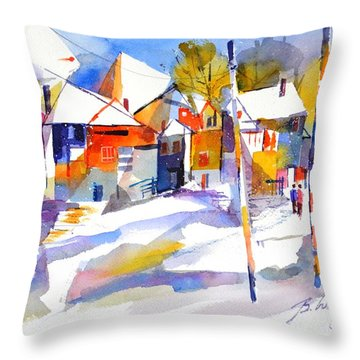 For Love Of Winter #2 Throw Pillow
