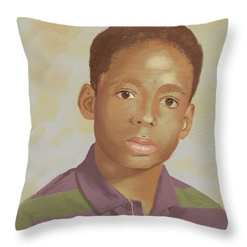 For My Brother Throw Pillow