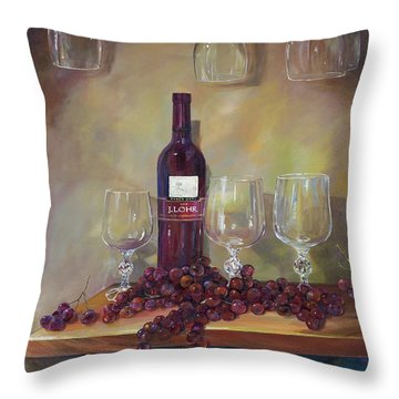 For Nancy Throw Pillow