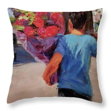 For Someone Special Throw Pillow by Peter Salwen
