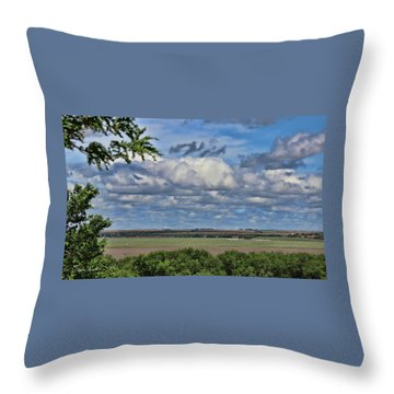 For Spacious Skies Throw Pillow