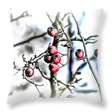 For The Birds Throw Pillow by Mimulux patricia No