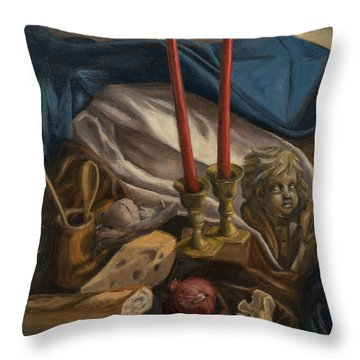 For The Bishop Of Digne Throw Pillow