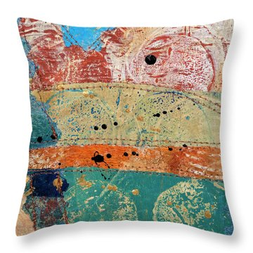 For The Love Of Circles 8 Throw Pillow