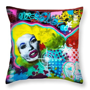 For The Love Of Jane Throw Pillow