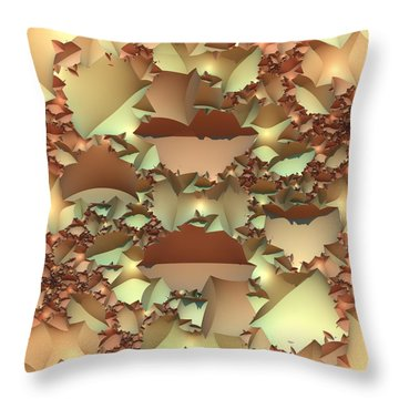 Throw Pillow featuring the digital art For Your Wall by Lyle Hatch