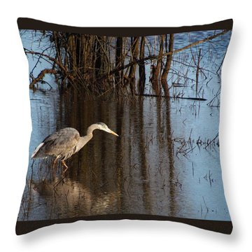 Foraging Throw Pillow