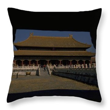 Forbidden City, Beijing Throw Pillow
