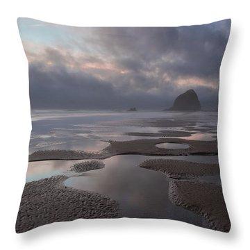 Forbidden Coast Throw Pillow