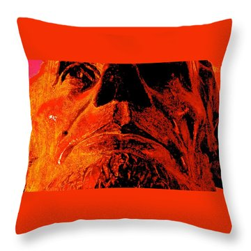 Force Of Character Throw Pillow