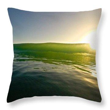 Force Of Light Throw Pillow