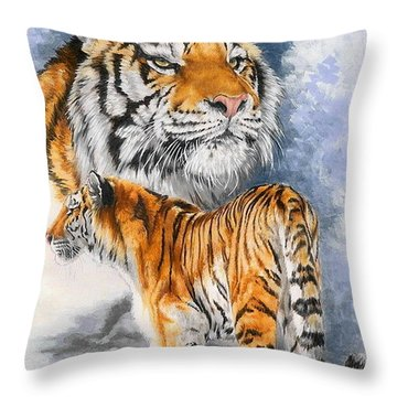 Forceful Throw Pillow