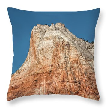 Throw Pillow featuring the photograph Forces Of Nature by John M Bailey