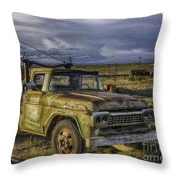 Ford 1958 - F-series Pickup  Throw Pillow