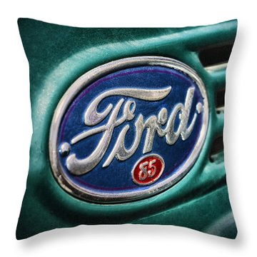 Ford 85 Throw Pillow by Caitlyn Grasso