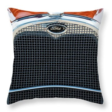 Throw Pillow featuring the photograph Ford Coupe by Brad Allen Fine Art