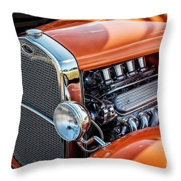 Throw Pillow featuring the photograph Ford Coupe II by Brad Allen Fine Art