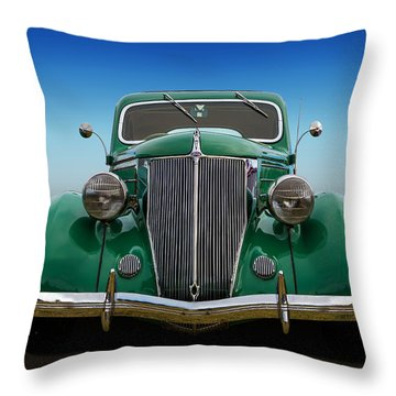 Throw Pillow featuring the photograph Ford Coupe by Keith Hawley
