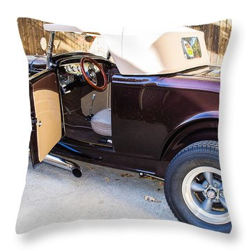 Ford Coupe Throw Pillow