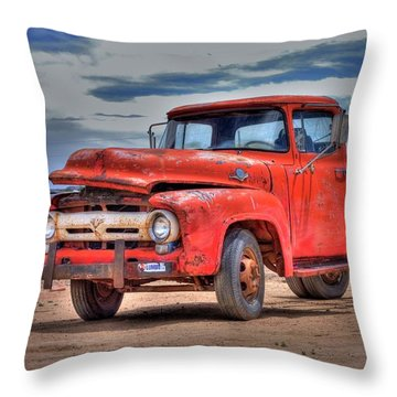 Ford F-350 Throw Pillow