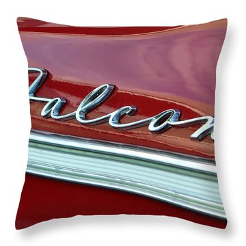 Ford Falcon Throw Pillow by David Lee Thompson