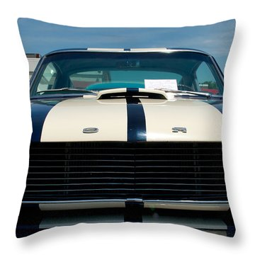Ford Mustang 2 Throw Pillow by Mark Dodd