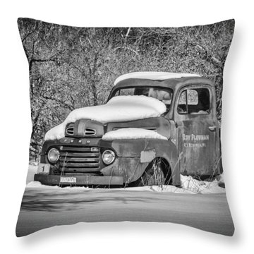 Ford Truck 2016-1  Throw Pillow by Thomas Young