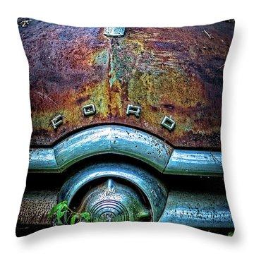 Ford Tudor Throw Pillow