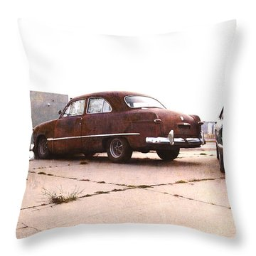 Fords Throw Pillow
