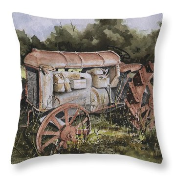 Fordson Model F Throw Pillow