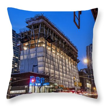 Foregleams Throw Pillow by Steve Sahm