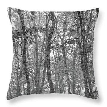 Forest #090 Throw Pillow