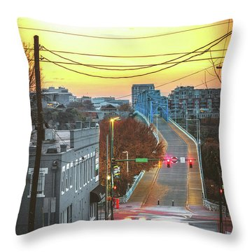 Forest And Frazier Throw Pillow by Steven Llorca