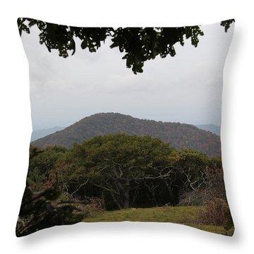 Forest Dark Space Throw Pillow