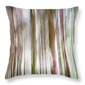 Forest Fantasy 4 Throw Pillow