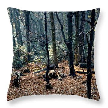 Fir Forest-1 Throw Pillow